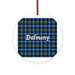 Tartan - Dalmeny Ornament (Round)