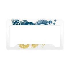 Ukraine Flag License Plate Holder