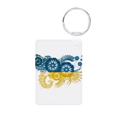 Ukraine Flag Keychains