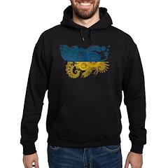 Ukraine Flag Hoodie
