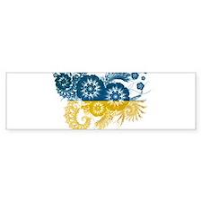 Ukraine Flag Bumper Bumper Sticker