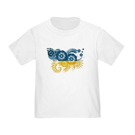 Ukraine Flag Toddler T-Shirt