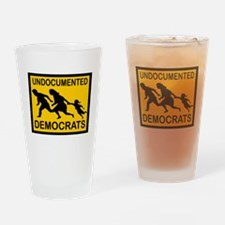 MILLIONS COMING Drinking Glass