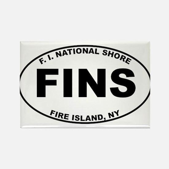 Fire Island National Shore Rectangle Magnet
