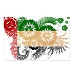 United Arab Emirates Flag Postcards (Package of 8)