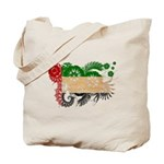 United Arab Emirates Flag Tote Bag