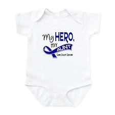 My Hero Colon Cancer Infant Bodysuit