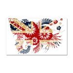 United Kingdom Flag Car Magnet 20 x 12