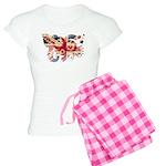 United Kingdom Flag Women's Light Pajamas