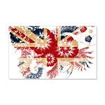 United Kingdom Flag 22x14 Wall Peel