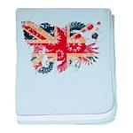 United Kingdom Flag baby blanket