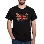 United Kingdom Flag Dark T-Shirt