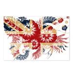 United Kingdom Flag Postcards (Package of 8)