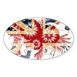 United Kingdom Flag Sticker (Oval)