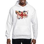 United Kingdom Flag Hooded Sweatshirt