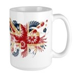 United Kingdom Flag Large Mug