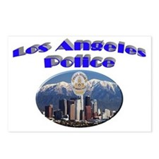 LAPD Skyline Postcards (Package of 8)
