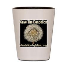 Save The Dandelion Shot Glass