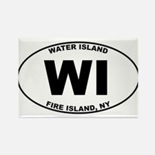 Water Island Fire Island Rectangle Magnet