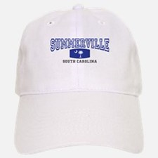 Summerville South Carolina, SC, Palmetto Flag Baseball Baseball Cap