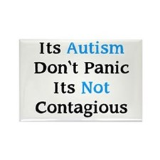 It's Not Contagious Rectangle Magnet (100 pack)