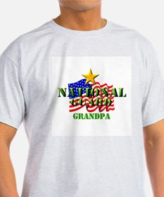 National Guard (2) Grandpa Ash Grey T-Shirt