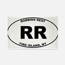 Robbins Rest Fire Island Rectangle Magnet