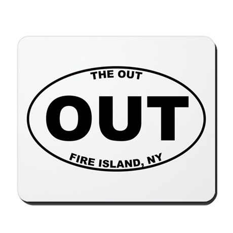 The Out Fire Island Mousepad