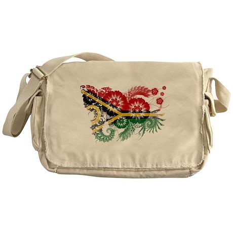 Vanuatu Flag Messenger Bag