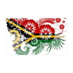 Vanuatu Flag 38.5 x 24.5 Wall Peel