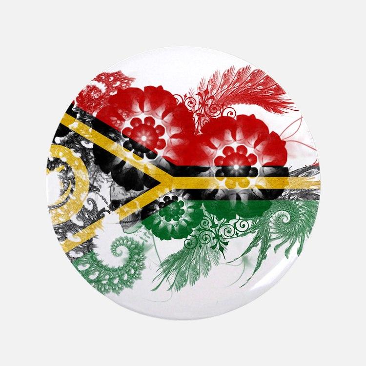 "Vanuatu Flag 3.5"" Button (100 pack)"