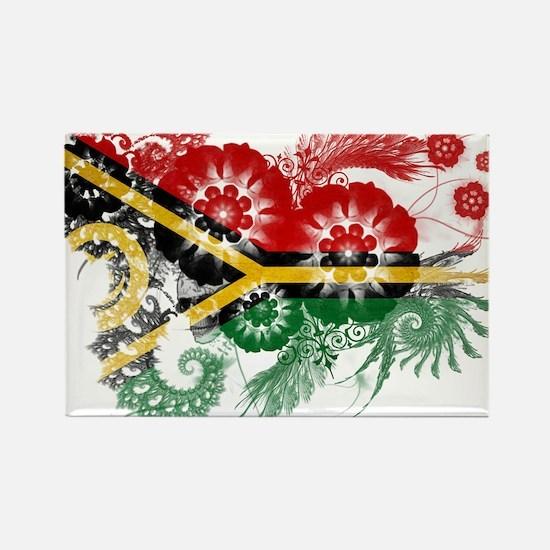 Vanuatu Flag Rectangle Magnet