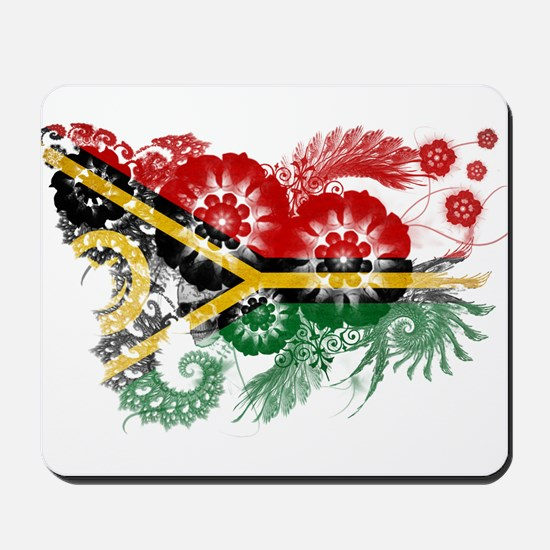 Vanuatu Flag Mousepad