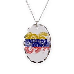 Venezuela Flag Necklace