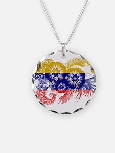 Venezuela Flag Necklace