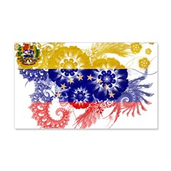Venezuela Flag 22x14 Wall Peel