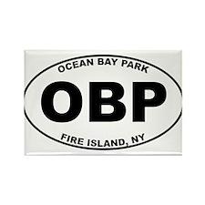 Ocean Bay Park Fire Island Rectangle Magnet