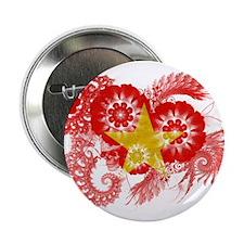 """Vietnam Flag 2.25"""" Button"""