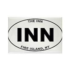 The Inn Fire Island Rectangle Magnet