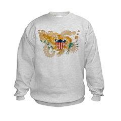 Virgin Islands Flag Sweatshirt
