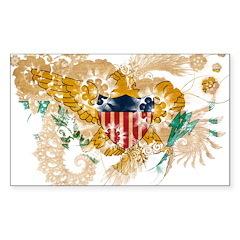 Virgin Islands Flag Decal