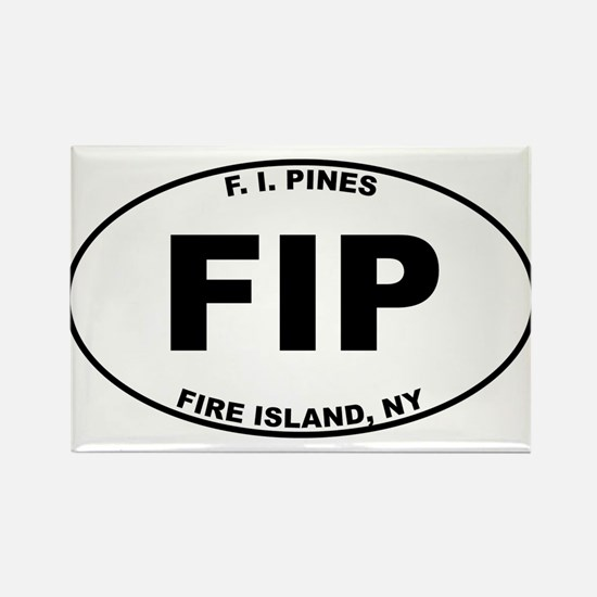 Fire Island Pines Rectangle Magnet