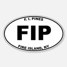 Fire Island Pines Decal