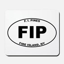 Fire Island Pines Mousepad