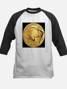 Black-Gold Buffalo Tee