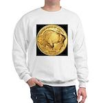 Black-Gold Buffalo Sweatshirt