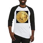 Black-Gold Buffalo Baseball Jersey