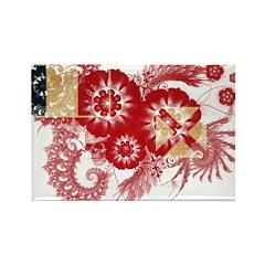 Wallis and Futuna Flag Rectangle Magnet (100 pack)