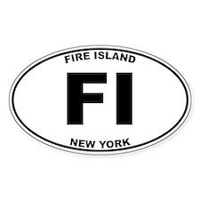 Fire Island Decal