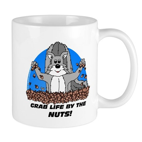Grab Life By The Nuts Mug